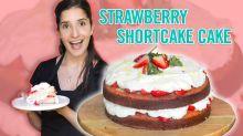 How To Make A Strawberry Shortcake Cake With Tara