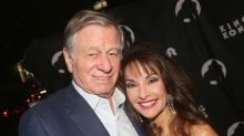 Susan Lucci fell for husband Helmut Huber during her engagement party to another man