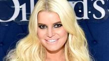 Jessica Simpson Bore (Almost!) All in a Cheeky Birthday Snap