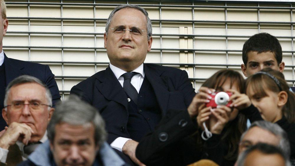 """Lazio, Lotito ai tifosi: """"Avete battuto quelli della Juve"""""""