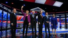 Democrats bare fangs at Bloomberg in fiery debate
