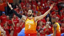Ricky Rubio powers Jazz past Thunder with triple-double to take 2-1 series lead