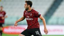 Guaio Milan, Calhanoglu infortunato: problema al polpaccio contro la Lazio