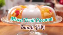 Mixed Fruit Coconut Bundt Jelly