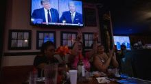 How the chaos of the first debate was received at three very different watch parties