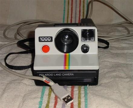 Don't throw out that Polaroid just yet, make it digital