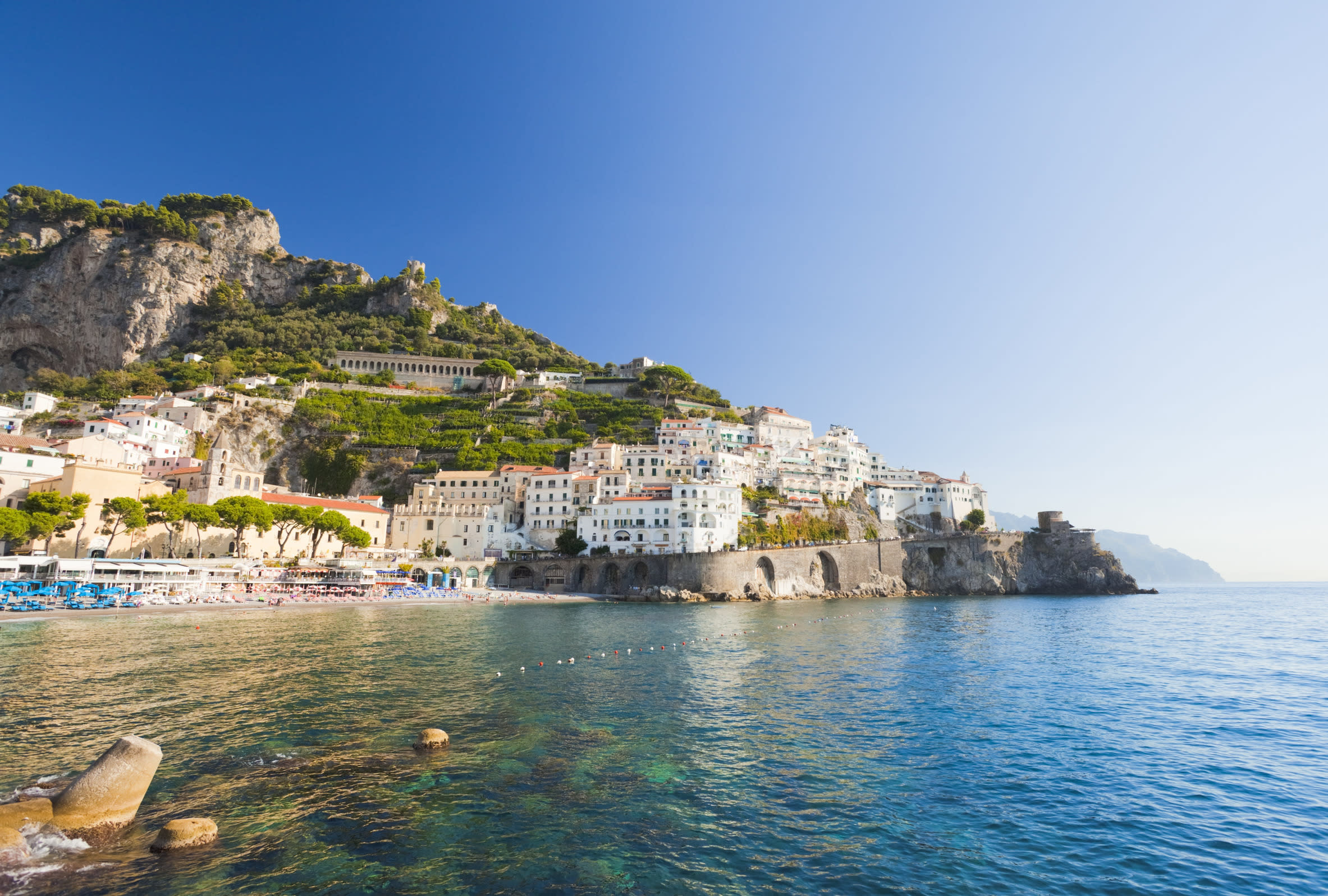 """<p><span style=""""font-family:helvetica, arial;font-size:16px;background-color:rgb(255, 255, 255);"""">The Amalfi Coast (Costiera Amalfitana) is known to be one of the most beautiful stretches of coastline in the world, which is why thousands of couples visit every year. Although Positano and Amalfi are the main allure for tourists, couples seeking extra seclusion could explore Salerno, a beautiful old town. An afternoon walk in the sunshine through Salerno's winding medieval streets, finished off with a glass of Limoncello (Italy's famous lemon liqueur) in a quaint cafe is enough to make anyone fall in love.</span><span style=""""font-family:helvetica, arial;font-size:16px;"""">Tip: The best time to visit the Amalfi Coast is in spring or early autumn, (summer can be</span><span style=""""font-family:helvetica, arial;font-size:16px;"""">very crowded).</span></p>"""
