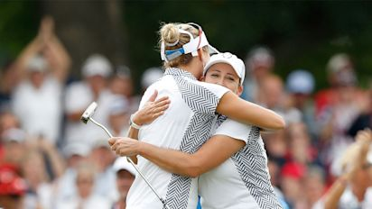 U.S. maintains three-point lead at Solheim Cup