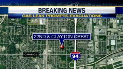 South Side Neighborhood Affected By Gas Leak