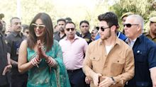 It's a wrap on Nickyanka's wedding as the couple leave Jodhpur