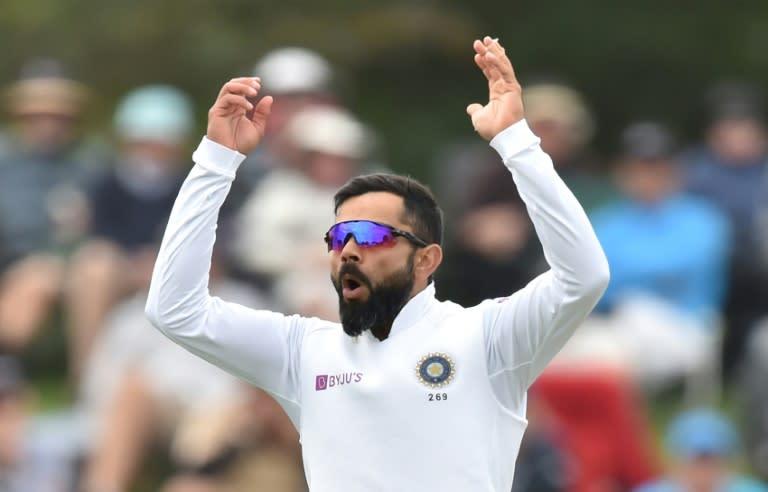 India's captain Virat Kohli said a live stadium audience is essential to cricket (AFP Photo/PETER PARKS)