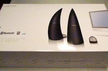 Edifier Spinnaker Bluetooth Speaker System: Striking appearance, amazing sound