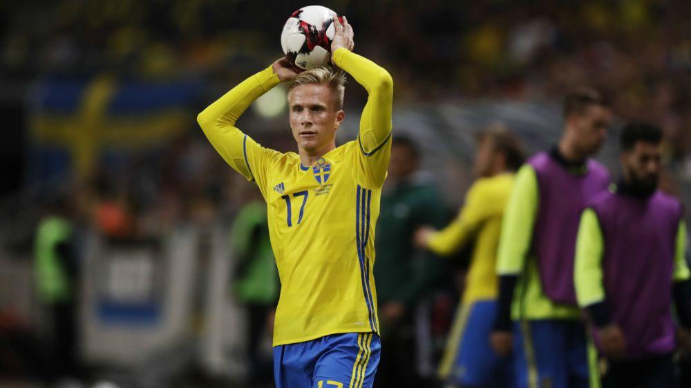 Oscar Wendt tritt aus Schwedens Nationalmannschaft zurück