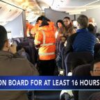 United passengers stuck on plane for 16 hours at Canadian airport