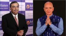 Ambani versus Bezos: Who's winning the battle for India's $700 billion retail industry
