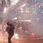 Lebanon counter-protesters clash with police in Beirut