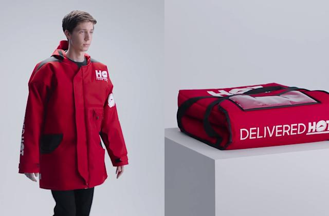 Pizza Hut Parka keeps you as warm as a pizza