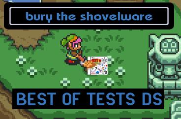 Bury the Shovelware: Best of Tests DS