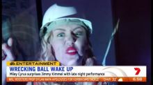 Jimmy Kimmel woken up by a wrecking ball