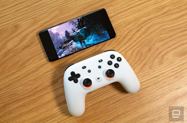 There are 400 games in development for Google Stadia