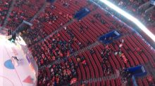 Plenty of empty seats despite reduced prices for Canada's semifinal