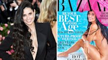 Demi Moore, 56, poses nude on magazine cover for first time in 30 years