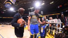 Warriors hook up 6-year-old victim of ticket fraud with VIP treatment
