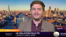 UK inflation falls to lowest since 2016