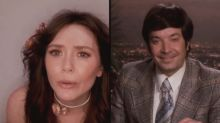 Elizabeth Olsen and Jimmy Fallon amaze 'WandaVision' fans with 'FallonVision' parody