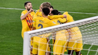 Ronald Koeman delighted with Barcelona's 'wonderful' fighting spirit