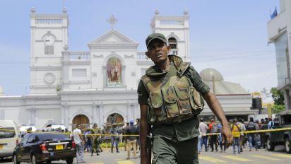 Blasts kill at least 129 in Sri Lanka on Easter Sunday
