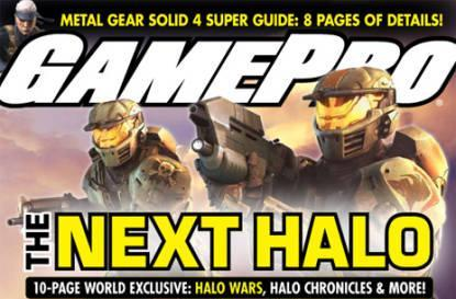 New Halo Wars and Halo Chronicles info in latest GamePro