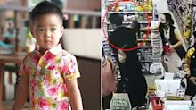 Man abducts child as mother queues to buy groceries