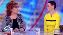 Rose McGowan on 'The View' Calls Out Justin Timberlake For Woody Allen Role