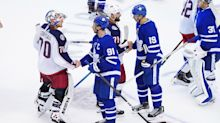 NHL Roundup: Blue Jackets eliminate Maple Leafs with shutout win