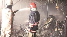 Delhi: 'Massive' fire at SBI building, no casualty