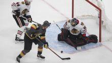 Blackhawks fall to Golden Knights in opener