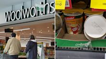 Woolworths customer spots 'disgusting' find on shelves