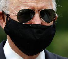 'Falsely masculine': Biden hits Trump over face masks as president calls them 'politically correct'