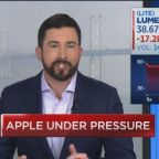 Apple supplier Lumentum Holdings sinks, and some worry ab...