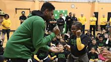 Boston Celtics and Sun Life go virtual to connect with YMCA youth on health and wellness