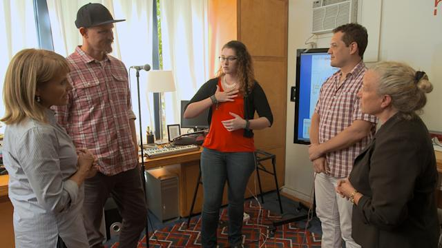 Deaf singer experiences her own music with help from 'Not Impossible' tech-hackers