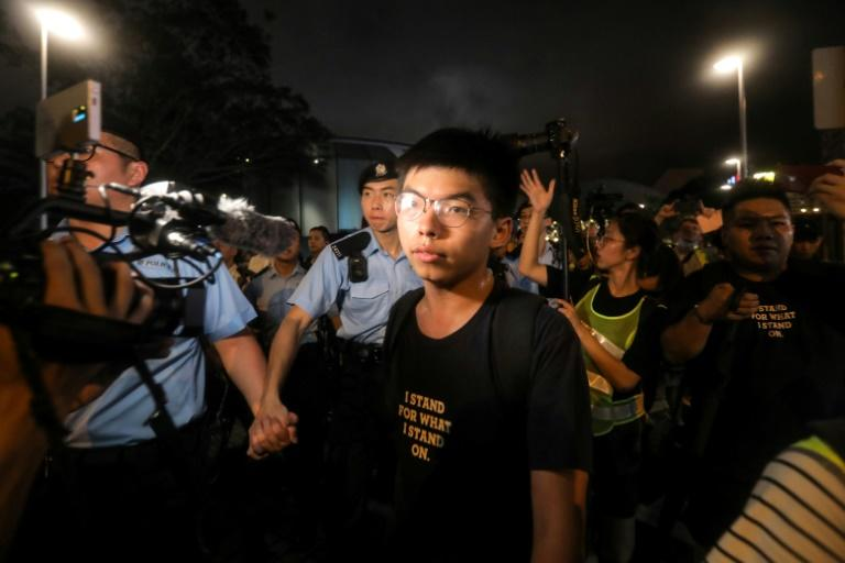 Joshua Wong has been a democracy activist since he was 12