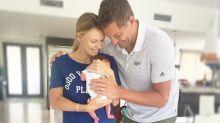 'Family of 3': Caroline Wozniacki shares first photo of new baby
