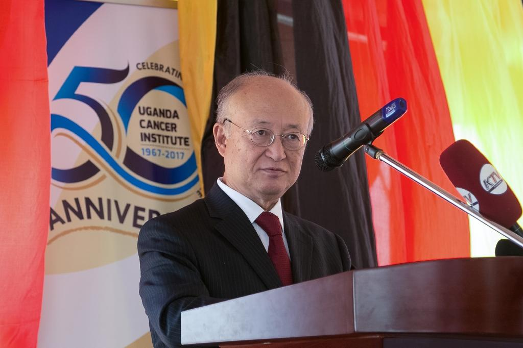 "IAEA chief Yukiya Amano insisted that the agency's independence was ""of paramount importance"" for its work"