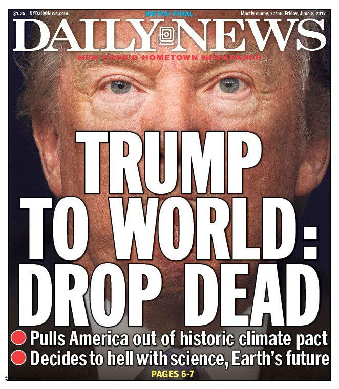 "<p>""Daily News,"" published in New York, N.Y. (Newseum) </p>"