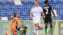 Sassuolo 1-2 Milan: Ibrahimovic strikes twice to send Rossoneri fifth