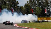 Spanish Grand Prix: Hamilton breezes to victory as Grosjean breaks everything