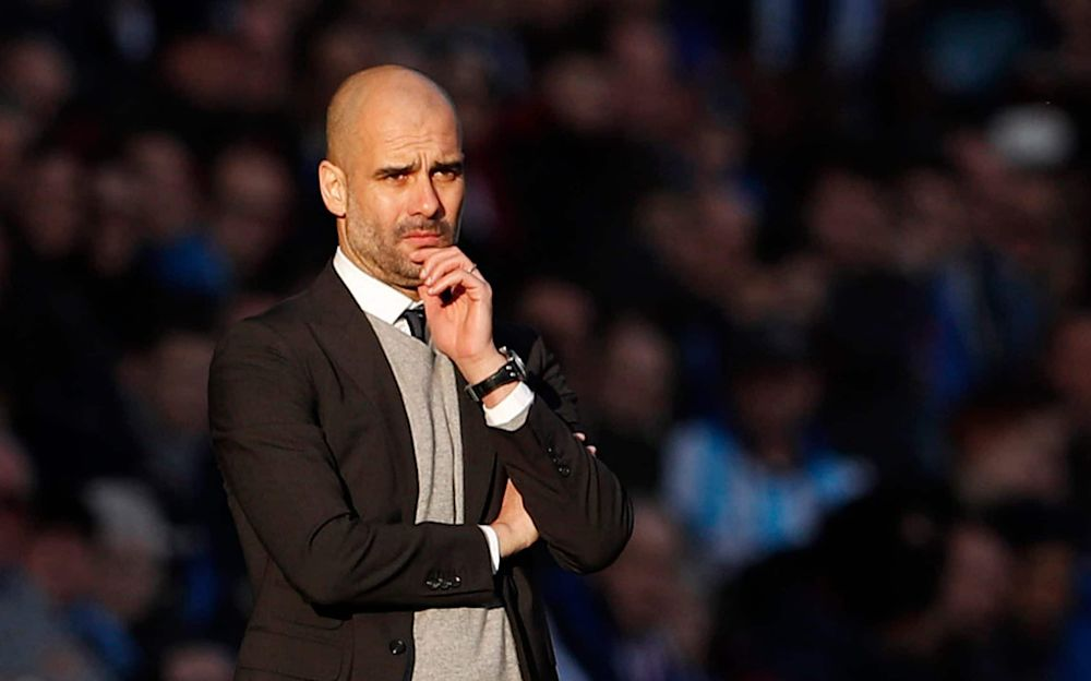 Guardiola says his managerial credentials are unrivalled - Reuters