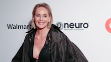 Sharon Stone says it is a 'big, fat stupid lie' when people claim looks do not matter